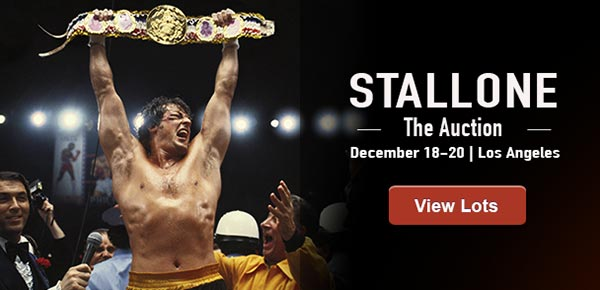 December 18 - 20 Stallone - The Auction #7111