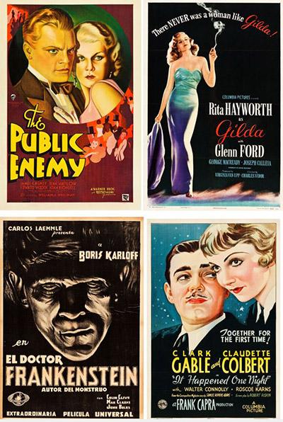 Vintage Movie Poster Auction