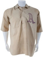 Early 1910's Jack Coombs Game Worn Philadelphia Athletics Jersey, MEARS A9