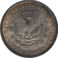 1901 $1 VAM-3, Shifted Eagle Doubled Die Reverse AU55 PCGS. Top-100