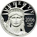 2006-W $100 One-Ounce Platinum Eagle, First Strike PR70 Deep Cameo PCGSC
