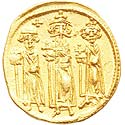 Heraclius 'Three Kings' solidus