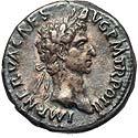 Toned Nerva denarius