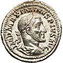 Sharp Maximinus I denarius