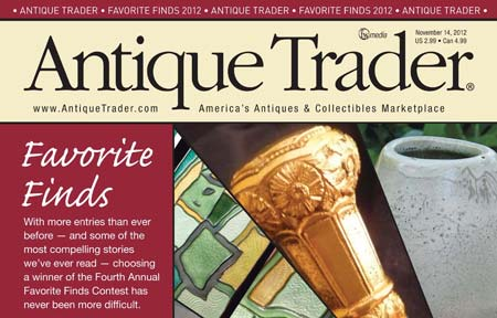 Antique Trader magazine Favorite Finds issue