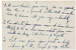 Reverend Dr. Martin Luther King, Jr letter