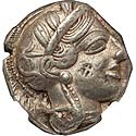Pleasing classical Athens owl tetradrachm