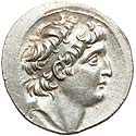Beautiful Antiochus VII tetradrachm