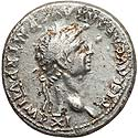 Attractive Claudius fourée denarius