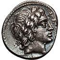 Beautiful Anonymous Roman denarius