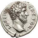 Strong Aelius denarius
