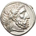 Attractive Philip II tetradrachm
