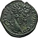 Sharp Severus bronze of Nicopolis