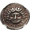 L. Plautius Plancus (47 BC). AR denarius