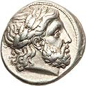 Strong Philip II tetradrachm