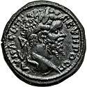 Sharp Septimius Severus provincial bronze