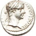 Tiberius 'Tribute Penny' denarius