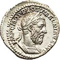 Well struck Macrinus denarius