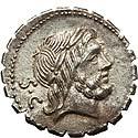 Q. Antonius Balbus (83-82 BC). AR serrate denarius