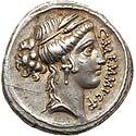 C. Memmius C. f. (56 BC). AR denarius