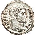 Mint State Diocletian argenteus