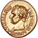 Rare Vitellius Aureus