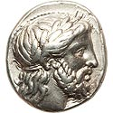 Lifetime Philip II tetradrachm