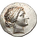 Lovely Cyme tetradrachm