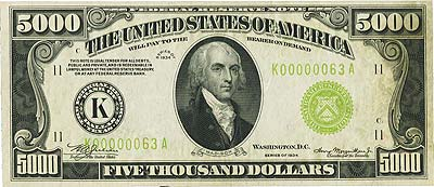 coin 122113 8 500 1882 Gold Certificate May Bring $2 Million At FUN Currency Signature Auction