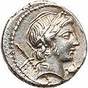 P. Crepusius denarius
