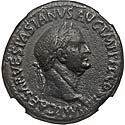 Pleasing Vespasian sestertius