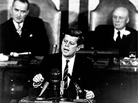 President Kennedy address to Congress