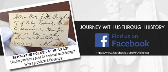 Journey with us through history. Find us on Facebook