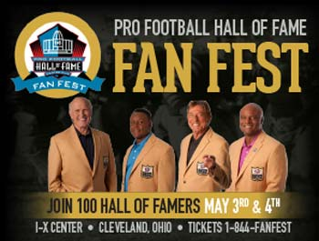 Pro Football Hall of Fame's Fan Fest