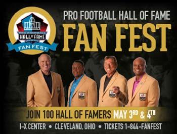 Pro Football Hall of Fame's Fan Fest