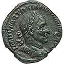 Fine Style Trajan Decius Sestertius