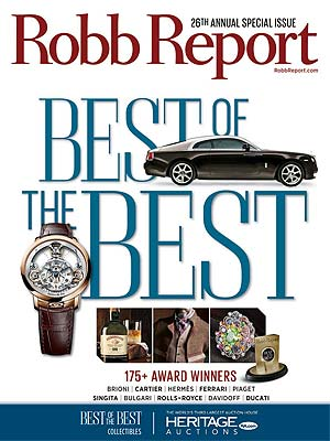 Robb Report Names Heritage Auctions as the Best of the Best in Collectibles